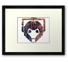 Cyberman Galaxy Framed Print