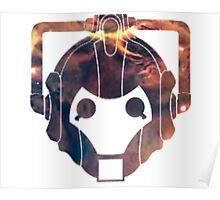 Cyberman Galaxy Poster