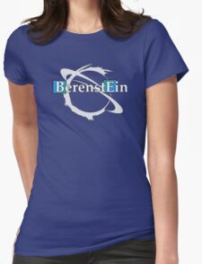 BerenstEin Logo in Blue Womens Fitted T-Shirt