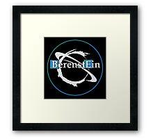 BerenstEin Logo in Blue Framed Print