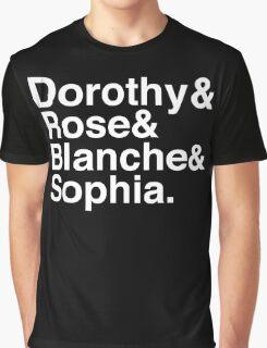 Golden Ladies_Classic White Graphic T-Shirt