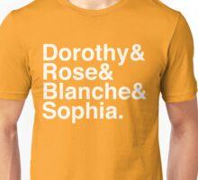 Golden Ladies_Classic White Unisex T-Shirt