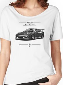 Nissan Silvia S15 (black) Women's Relaxed Fit T-Shirt