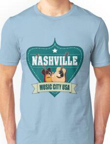 Vintage Nashville Music City Unisex T-Shirt