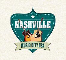 Vintage Nashville Music City Hoodie