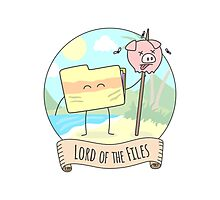 Lord of the Files Photographic Print