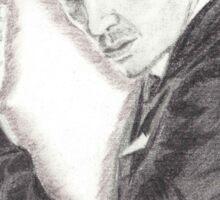 Moriarty portrayed by Andrew Scott in Sherlock Sticker