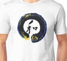 Wa - Peace Harmony in Enso zen circle Unisex T-Shirt
