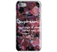 Daydream, Purple Watercolour & Ink Creative Pattern iPhone Case/Skin