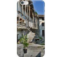 Building in Borgo Somp Cornino iPhone Case/Skin