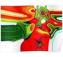 Fruit Slides  ( Kitchen Art Series ) Poster