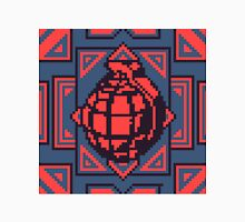 Grenade Pattern [Red/Blue] Unisex T-Shirt