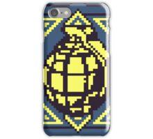 Grenade Pattern [Yellow/Blue] iPhone Case/Skin