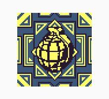Grenade Pattern [Yellow/Blue] Unisex T-Shirt