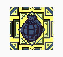 Grenade Pattern [Blue/Yellow] Unisex T-Shirt
