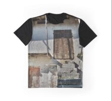 Building in Borgo Somp Cornino Graphic T-Shirt