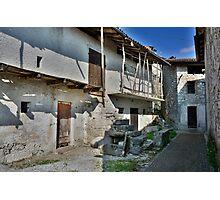 Building in Borgo Somp Cornino Photographic Print