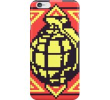 Grenade Pattern [Yellow/Red] iPhone Case/Skin