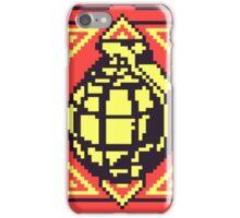 Grenade Pattern [Yellow/Red] iPhone Case/Skin