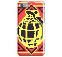 Grenade Pattern [Black/Red] iPhone Case/Skin