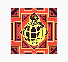 Grenade Pattern [Black/Red] Unisex T-Shirt