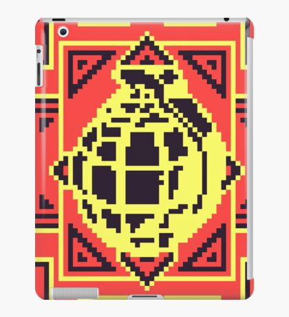 Grenade Pattern [Black/Red] iPad Case/Skin