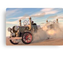 The great autombile race Canvas Print