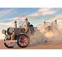 The great autombile race Photographic Print