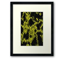 Only when it's Yellow Framed Print