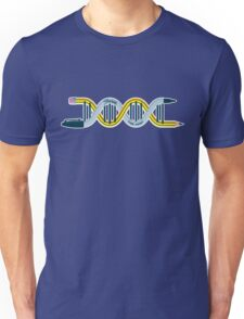 DNA Strands - Pencil and Sharpie T-Shirt