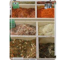 Dried Spice Mixes iPad Case/Skin
