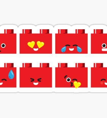 Emoji Building - Lego Sticker