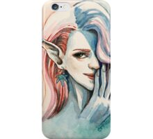 Pot Elf lady iPhone Case/Skin
