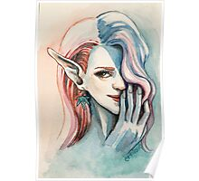 Pot Elf lady Poster
