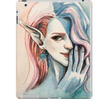 Pot Elf lady iPad Case/Skin