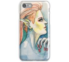 Pot Elf hipster iPhone Case/Skin