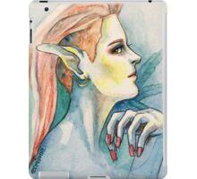 Pot Elf hipster iPad Case/Skin