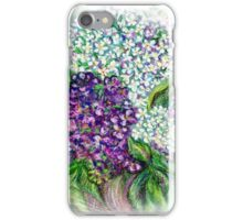 Lilac flowers Still life iPhone Case/Skin