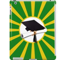 Green and Gold School Colors   iPad Case/Skin