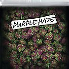 My Kush Weed Purple Haze Cannabis design Floral hemp marijuana by maximumtime