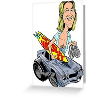 Spicoli & Camaro Greeting Card