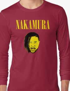 Nakamura 'Nevermind' mashup t-shirt Long Sleeve T-Shirt