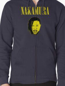 Nakamura 'Nevermind' mashup t-shirt Zipped Hoodie