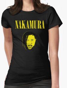 Nakamura 'Nevermind' mashup t-shirt Womens Fitted T-Shirt