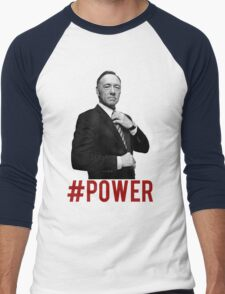 #POWER Men's Baseball ¾ T-Shirt