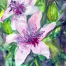 Happy Lilies After the Rain 2014 by Claudia Smaletz