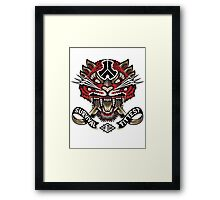 Defqon.1 Tiger Logo (Survival Of The Fit Test) Framed Print
