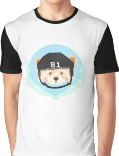 Red Panda Penguin Graphic T-Shirt