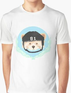 Red Panda Penguin Graphic T-Shirt