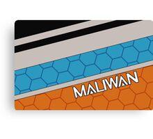 Borderlands Maliwan Brand Canvas Print